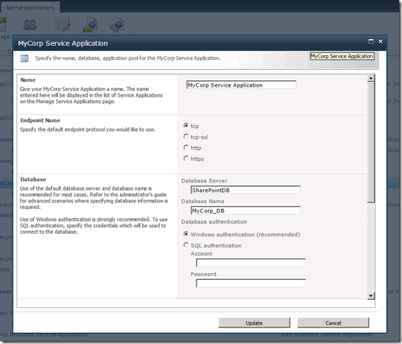 SharePoint 2010 Service Application Development 101 – Base Solution