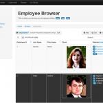 Sample entity browser